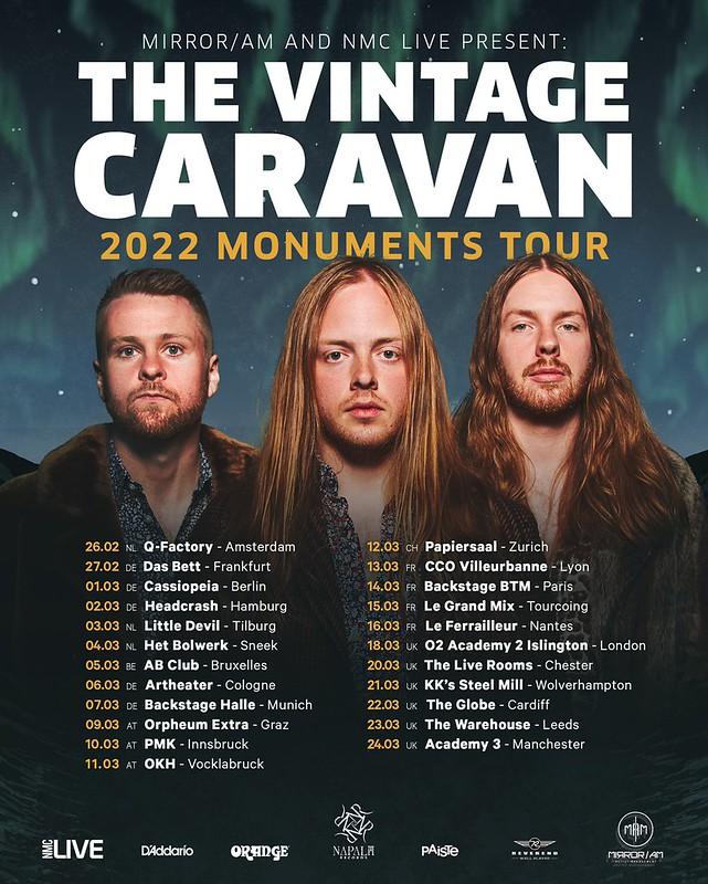 The Vintage Caravan Announce UK/European Tour