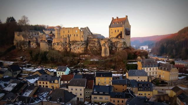 Le château de Larochette
