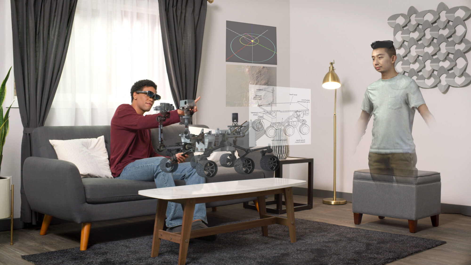 Article Thumbnail - Qualcomm's Latest AR Glasses Allows You To Pin Virtual Screens To Your Wall
