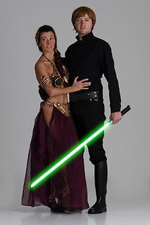 Luke Skywalker Leia Organa - Luca e Rosina