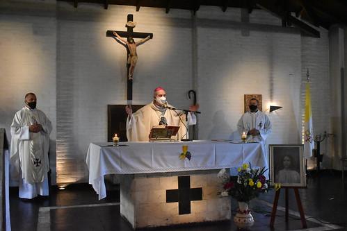 Santa María Goretti (Temperley) recibió a su nuevo administrador parroquial