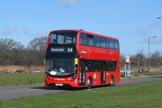 YW68 OZT (11329) Stagecoach London