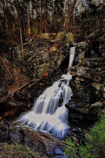 Kent Falls,  Upper fall