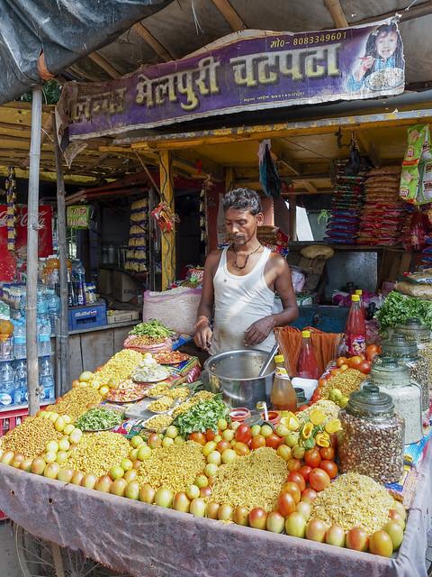 Vendeurs des rues..Street seller India 2017