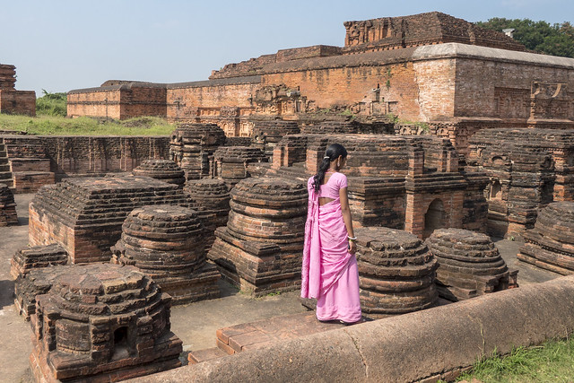 Nalanda..नालंदा..Unesco site .India 2017