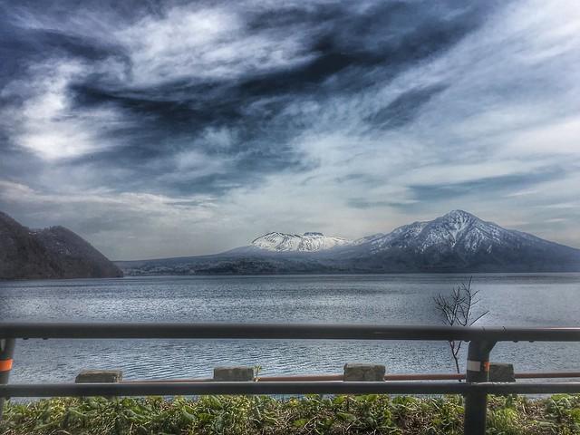 Volcanoes Across the Lake 1
