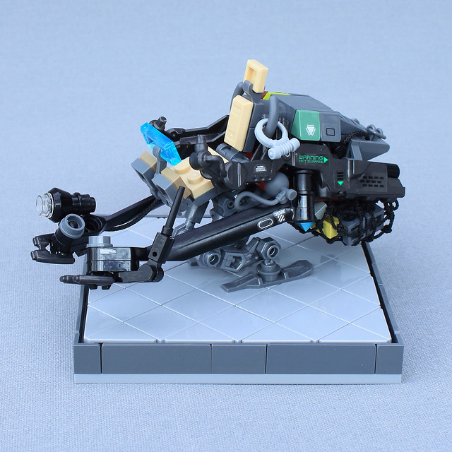 Bounty hunter speeder bike