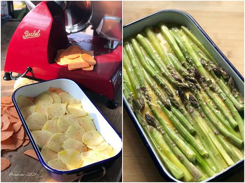 frittata asparagi patate
