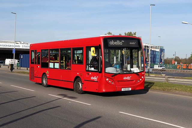 Route 490, Abellio London, 8321, YX10EBA