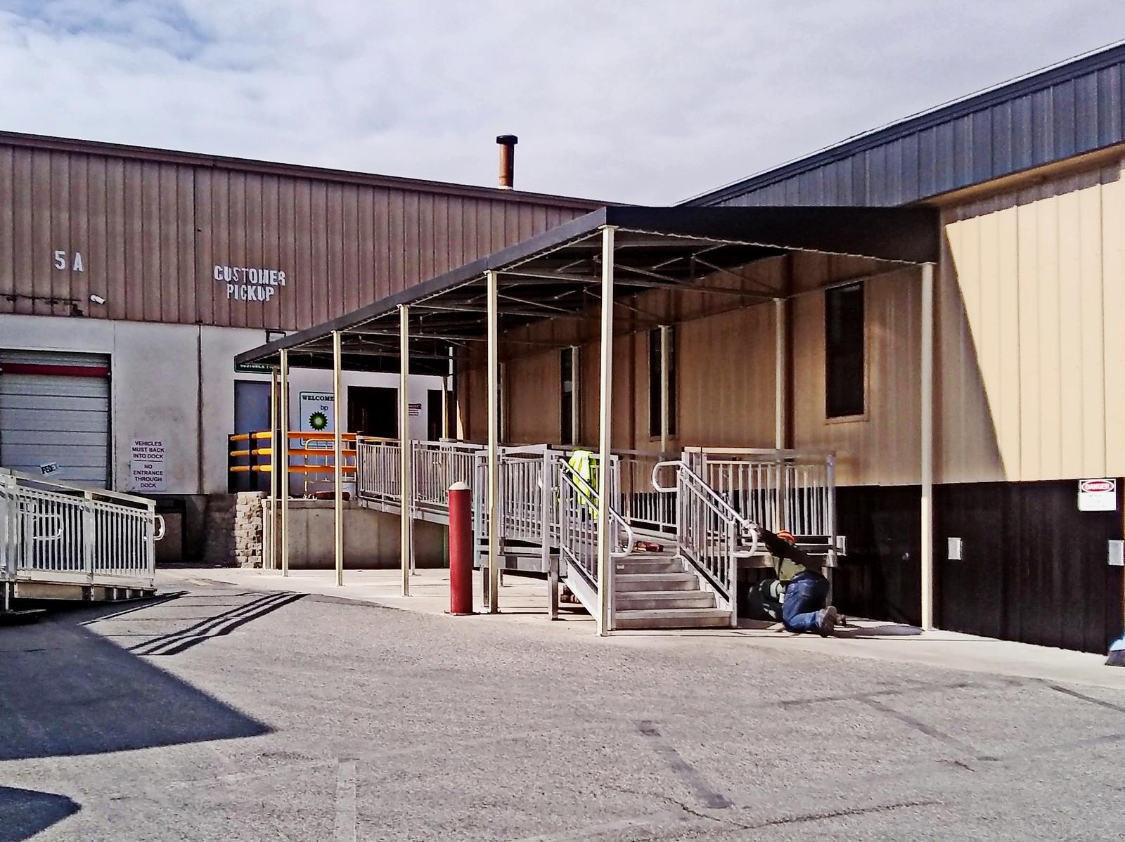 Loading Dock - Ramp Awning-Hoffman