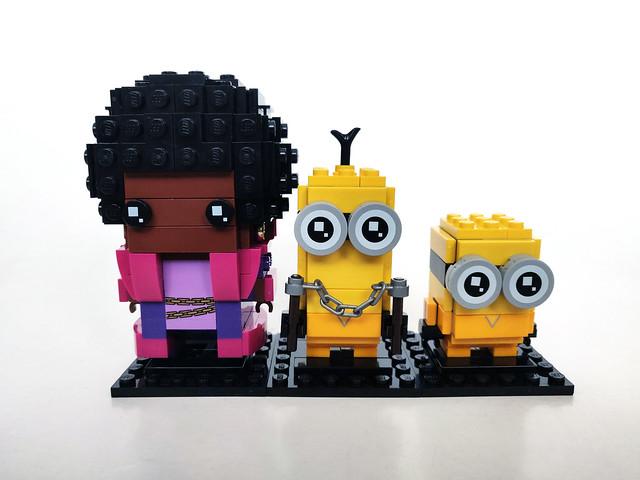 LEGO BrickHeadz Minions Belle Bottom, Kevin and Bob (40421)