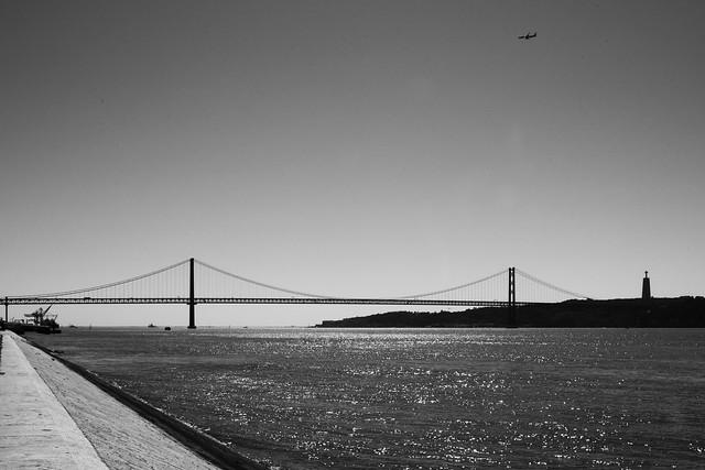 The bridge and the plane...