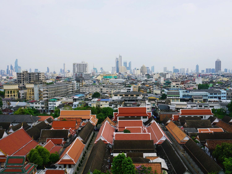 Bangkok temples view