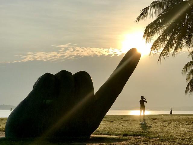 sunrise @ Changi Beach