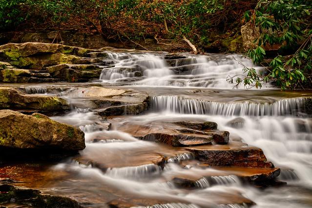 Cascade from Johnathan Run Falls