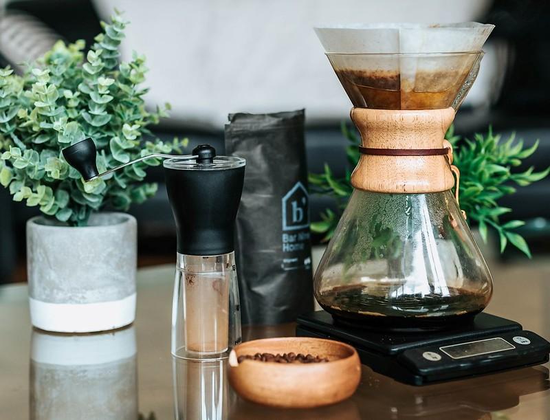Chemex coffee machine