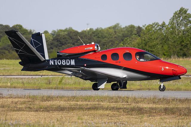 N108DM - Cirrus SF50-G2 - KPDK - Apr 2021