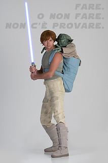 Luke Skywalker training Jedi - Luca