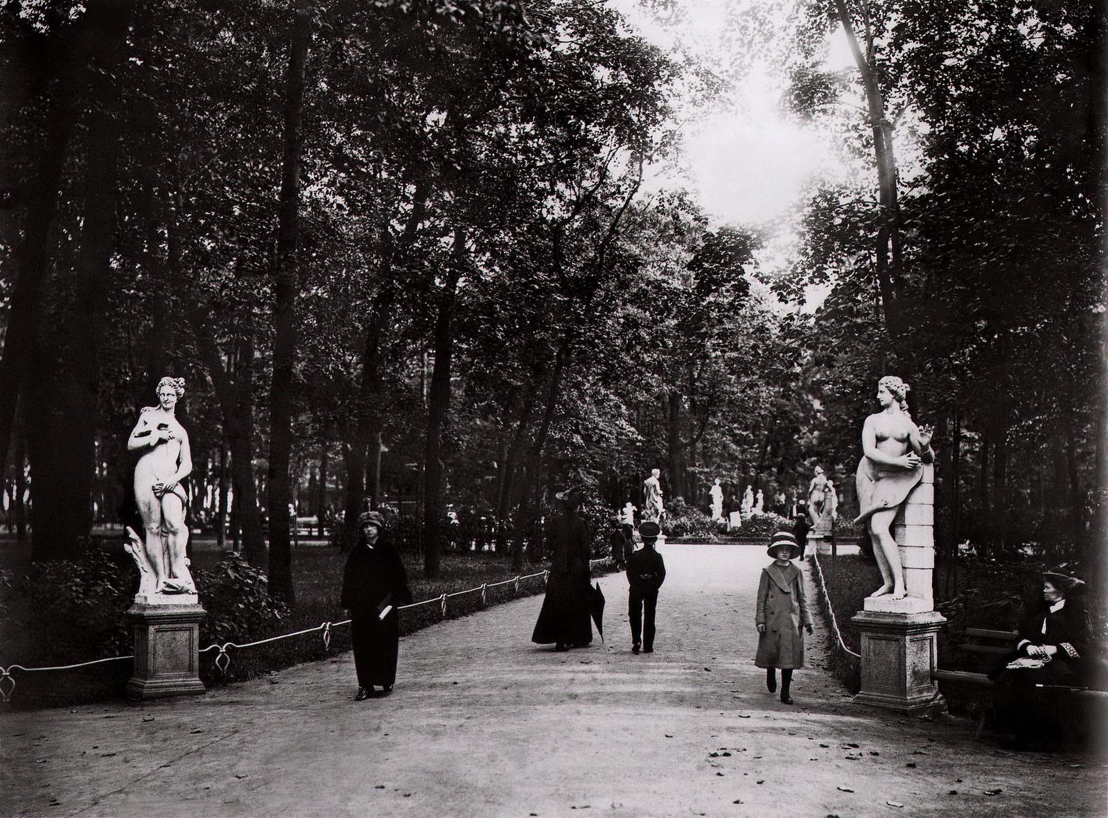 1913. Летний сад