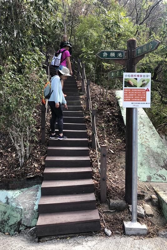 新田登山步道│潭子爬山健行景點,總長2.9公里的蜿蜒步道可眺望美麗台中市景,可一併攻略40號小百岳聚興山 @強生與小吠的Hyper人蔘~