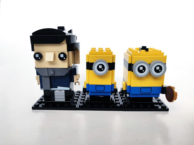 LEGO BrickHeadz Minions Gru, Stuart, and Otto (40420)