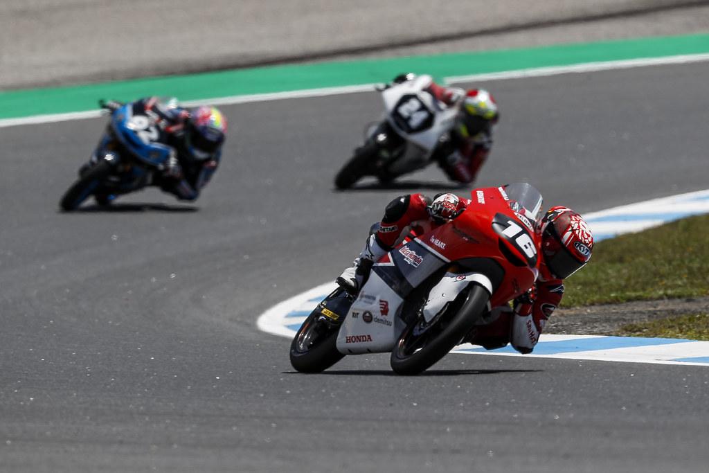 Mario Suryo Aji FIM Moto3 Estoril