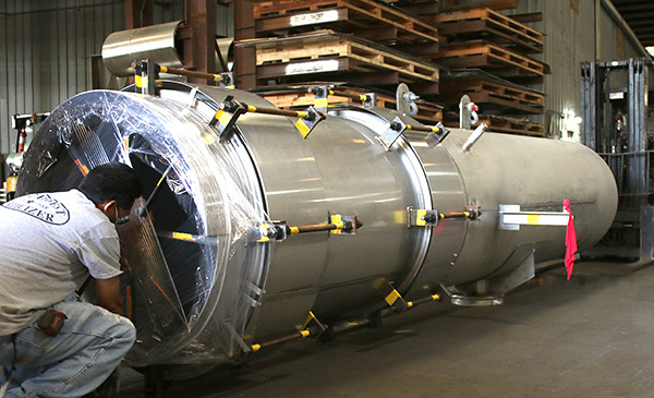 "U.S. Bellows Designed a 60"" Diameter Universal Expansion Joint & Duct Work Assembly during a Chemical Plant Turnaround"