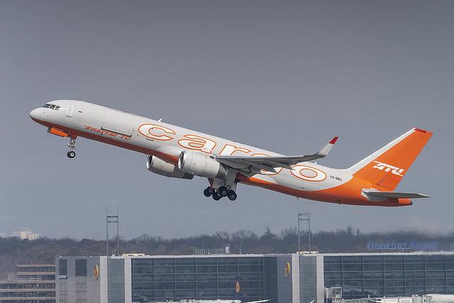 VQ-BBU, Boeing 757-223(PPC) Aviastar-TU @ Frankfurt FRA EDDF