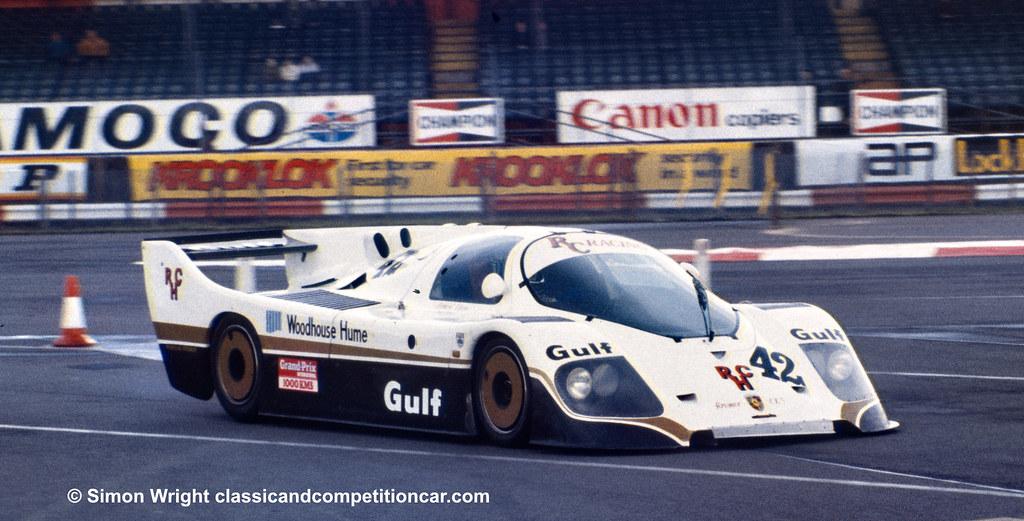 1983 Kremer Porsche CK5 Tony Dron:Richard Cleare 6th
