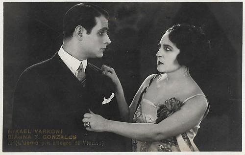 Gianna Terribili Gonzales and Victor Varconi in L'uomo più allegro di Vienna