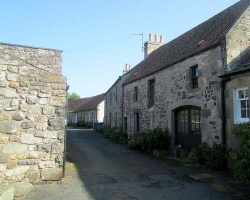 Castlegate Street in Ceres, Fife