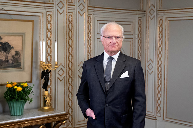 75e verjaardag Koning Carl Gustav van Zweden