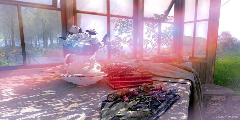 Serenity ~ Bee Scene Still Life Contest Entry 1