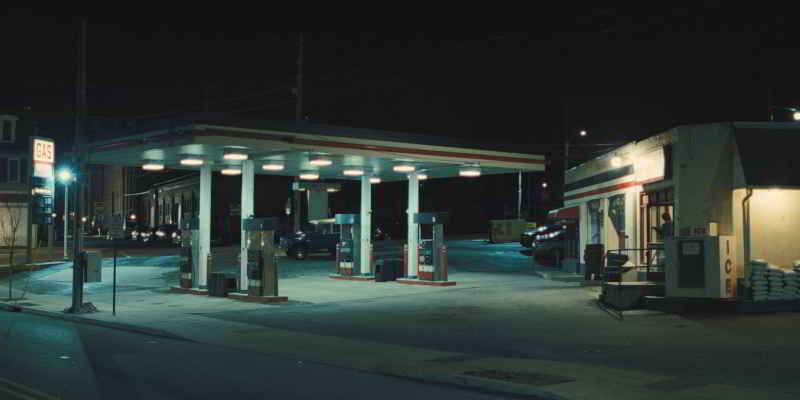 Petrol station in Phoenixville