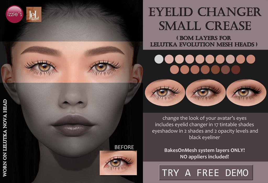Eyelid Changer Small Crease (LeLutka Evolution BOM)