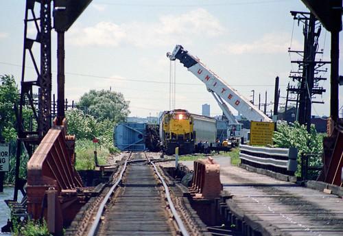 nysw susquehanna emd gp18 derailment ws littleferryyard ridgefieldparknj train railfan railroad