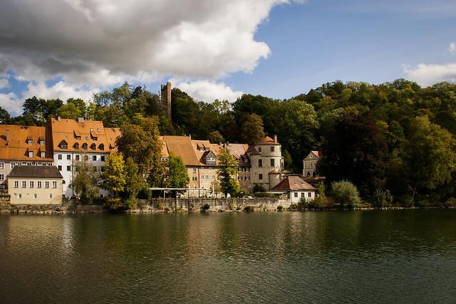 Scorcio sul fiume Lech