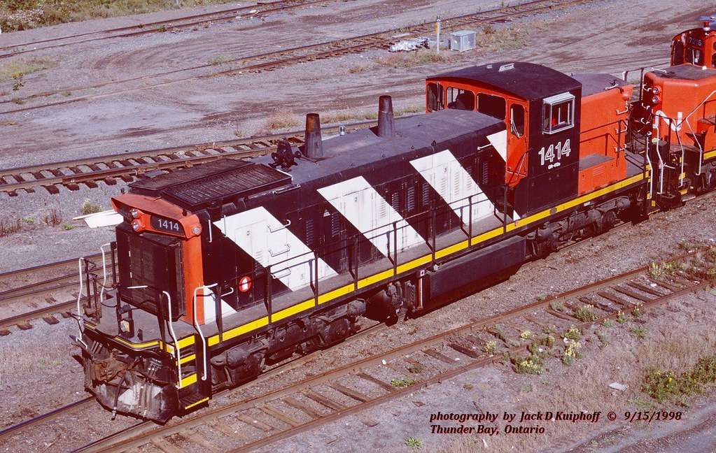 CN 1414, Thunder Bay, ONT. 9-15-1998
