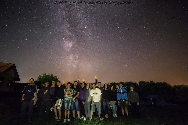 VCSE - Daraboshegy, 2014. évi tábor csoportképe - Fotó: Schmall Rafael