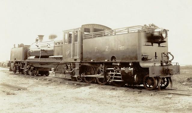 Africa Railways - Trans Zambesia Railway - TZR Class E 2-6-2+2-6-2