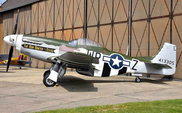 North American P51 D Mustang N351MX USAAF 44-74391 413305