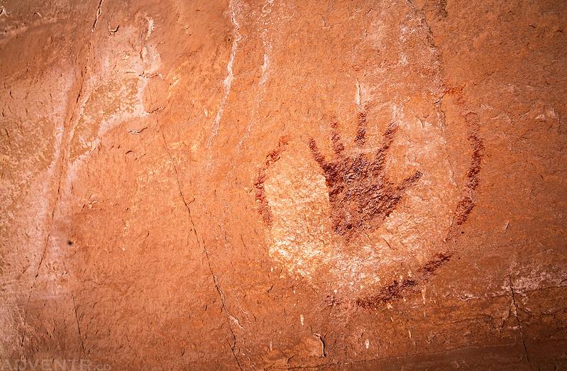 Circled Handprint