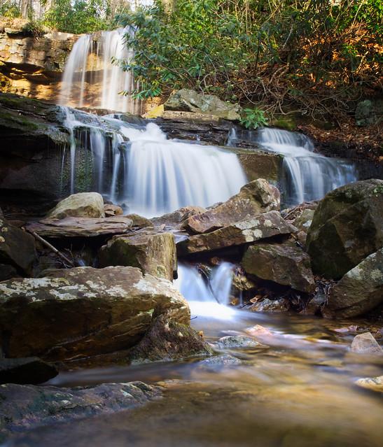 Cole Run Falls - Lower