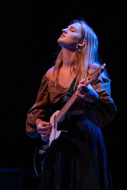 Madison Cunningham; in the most luminous spotlight.