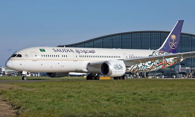 HZ-AR13 - Boeing 787-9 Dreamliner - LHR