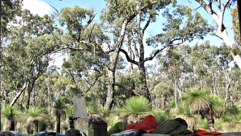 day 4 View from Brookton Shelter