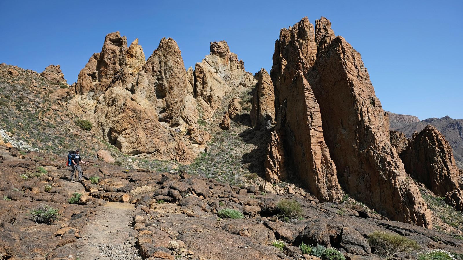 Roques de García Circuit Trail, Teide NPTenerife, Canary Islands, Spain