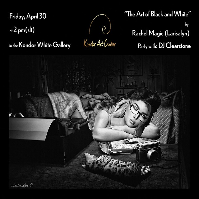 The Art Black & White by Rachel Magic (Larisalyn)