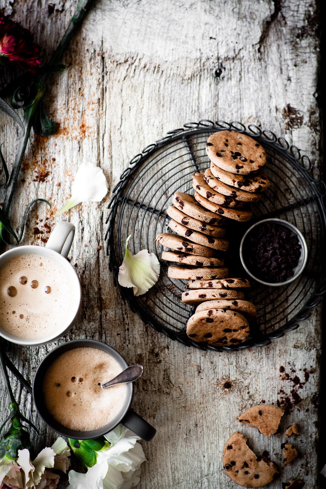pb&chocolate chip cookies