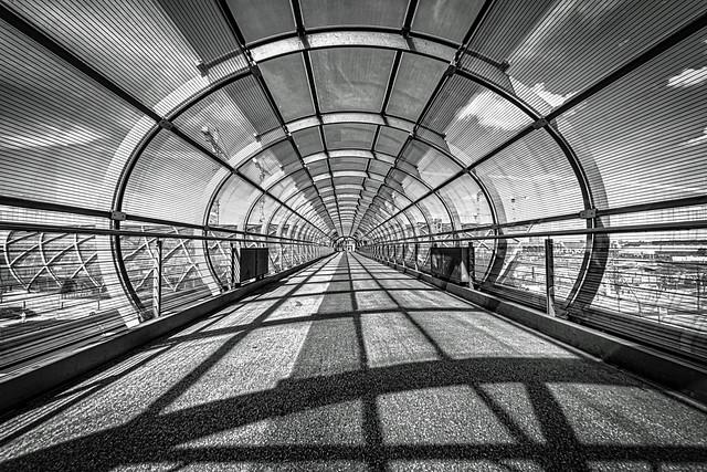 Hamburg Elbbrücken Skywalk